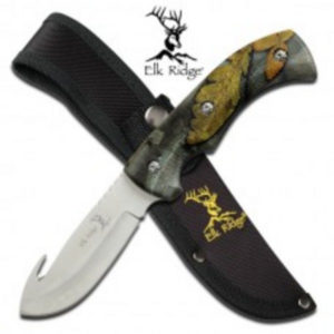 Elk Ridge Fixed Blade Camo Knife