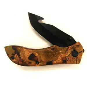 Camo Folding Knife