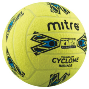 Mitre Cyclone Indoor Football - Size 4