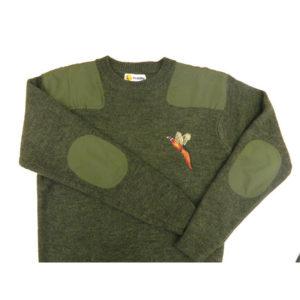 Round -Neck Sweater