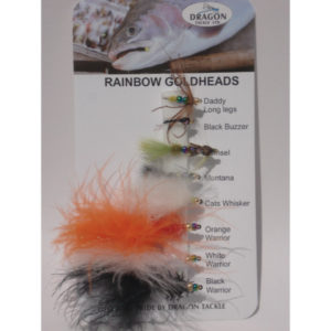 Rainbow Gold Head Flies